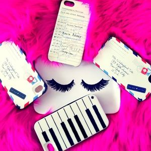 KATE SPADE Phone Cases 4 Bundle Set
